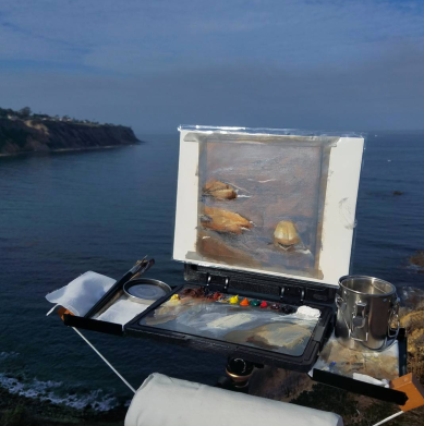 Los Angeles Gallery of Art - K.L. Britton Edge Pro Gear Sketchbook Pro Setup in Malibu