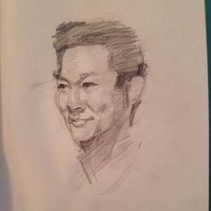 How to Draw Portraits art tips by contemporary artist K.L. Britton